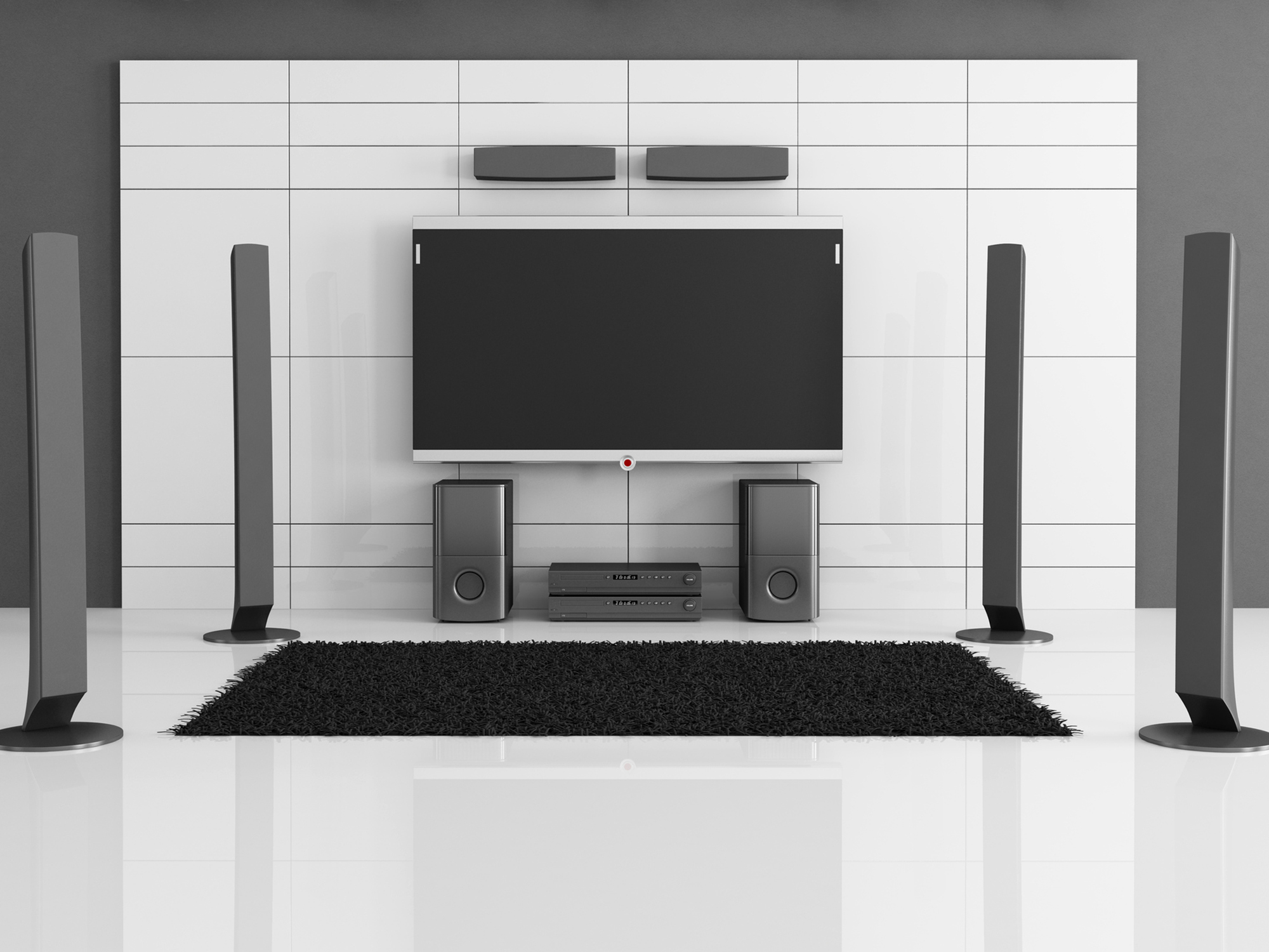 Home Entertainment Systems Are Popular In New And Existing Homes In